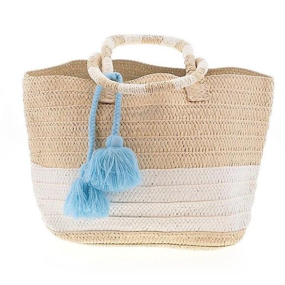 Altru Goods Straw Tote bag purse beach summer